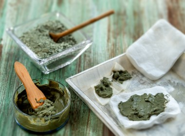 Clay Spa and medical concept image